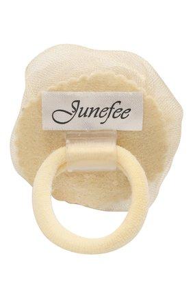 Детская резинка JUNEFEE бежевого цвета, арт. 6658 | Фото 2