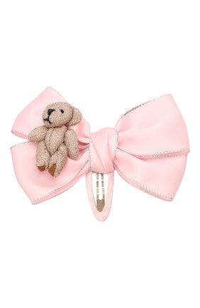 Детская заколка JUNEFEE розового цвета, арт. 6690 | Фото 1
