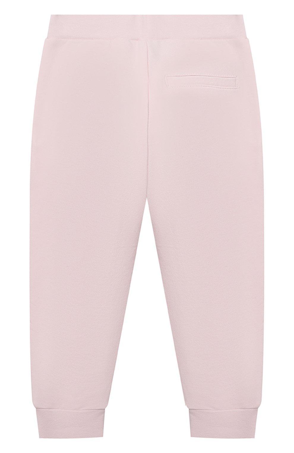 Детские брюки MONNALISA розового цвета, арт. 396407SX | Фото 2