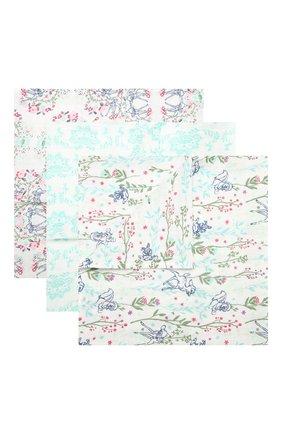 Детского комплект из трех пеленок ADEN+ANAIS разноцветного цвета, арт. DISN202G | Фото 1