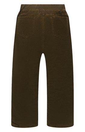 Детские хлопковые брюки IL GUFO хаки цвета, арт. A20PLR02V6005/5A-8A   Фото 2 (Материал подклада: Хлопок; Материал внешний: Хлопок; Мальчики Кросс-КТ: Брюки-одежда; Ростовка одежда: 4 года   104 см, 5 лет   110 см, 7 лет   122 см)