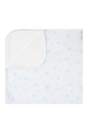 Детского хлопковое одеяло KISSY KISSY голубого цвета, арт. KB7052330   Фото 1
