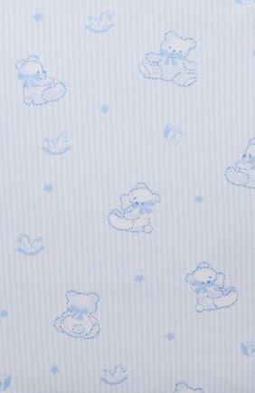 Детские комплект из боди и ползунков KISSY KISSY голубого цвета, арт. KBZ05232N   Фото 6