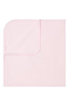 Детского хлопковое одеяло KISSY KISSY розового цвета, арт. KG7051780 | Фото 1