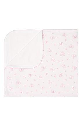 Детского хлопковое одеяло KISSY KISSY розового цвета, арт. KG7052440 | Фото 1