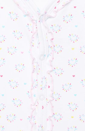 Детский хлопковый комбинезон KISSY KISSY разноцветного цвета, арт. KGQ05052N | Фото 3