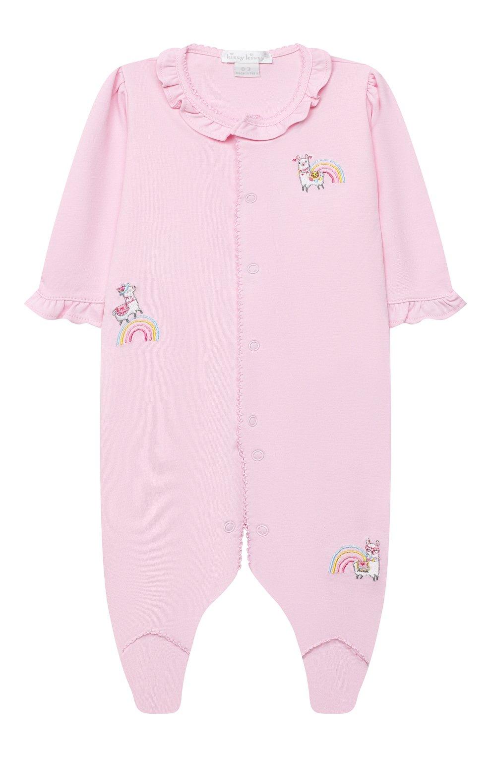 Детский комплект из комбинезона и шапки KISSY KISSY розового цвета, арт. KGQ05358N | Фото 2