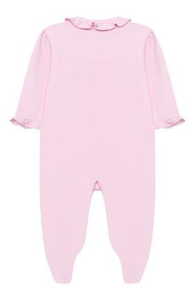 Детский комплект из комбинезона и шапки KISSY KISSY розового цвета, арт. KGQ05358N | Фото 3
