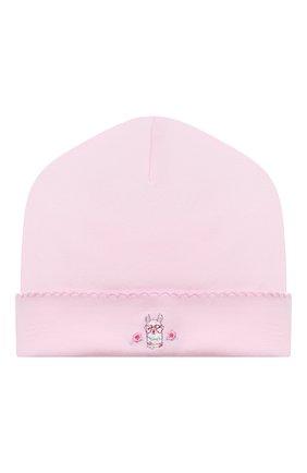 Детский комплект из комбинезона и шапки KISSY KISSY розового цвета, арт. KGQ05358N | Фото 4