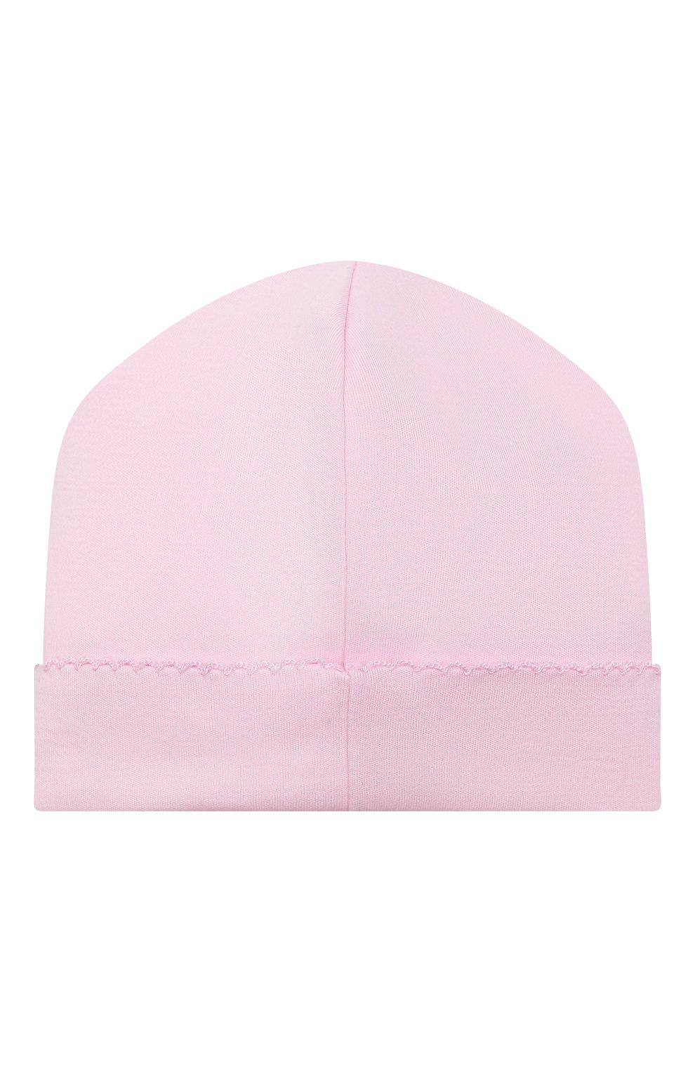 Детский комплект из комбинезона и шапки KISSY KISSY розового цвета, арт. KGQ05358N | Фото 5