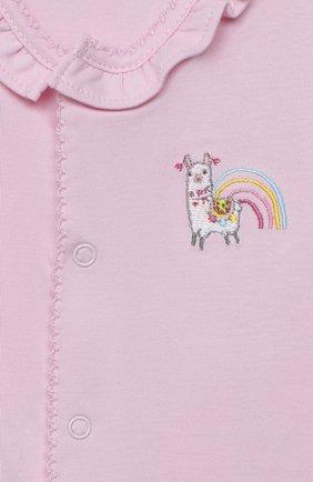 Детский комплект из комбинезона и шапки KISSY KISSY розового цвета, арт. KGQ05358N | Фото 6