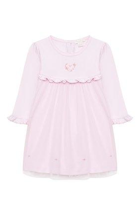 Женский комплект из платья и брюк KISSY KISSY розового цвета, арт. KGU05177I | Фото 2