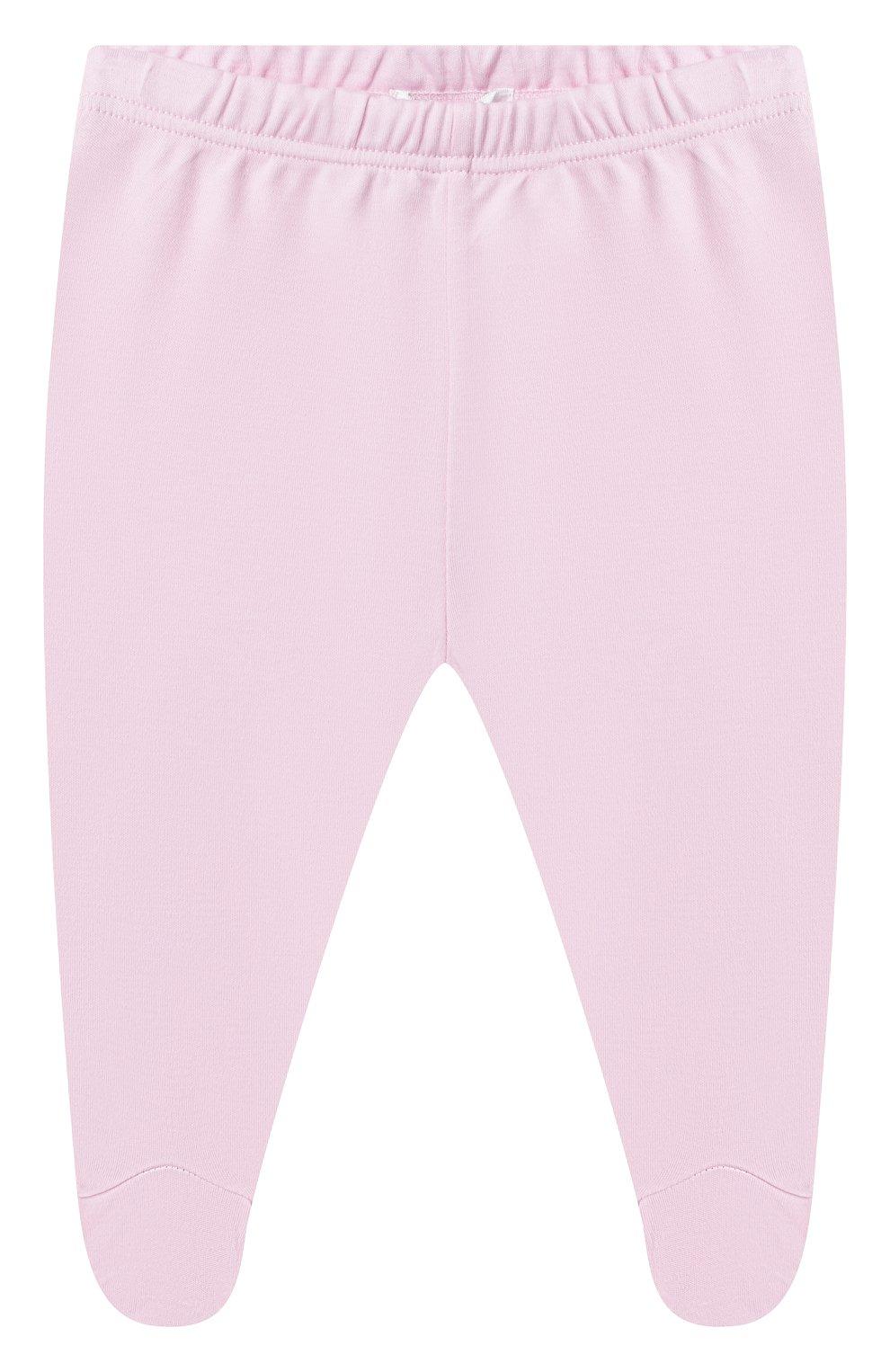 Детские комплект из боди и ползунков KISSY KISSY розового цвета, арт. KGZ05243N | Фото 4