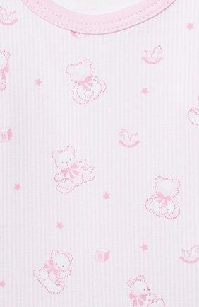Детские комплект из боди и ползунков KISSY KISSY розового цвета, арт. KGZ05243N | Фото 6