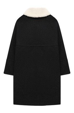 Детское шерстяное пальто MARNI темно-серого цвета, арт. M002R0-M00IR | Фото 2