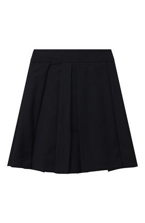 Детская шерстяная юбка MARNI темно-синего цвета, арт. M002RY-M00IM | Фото 2