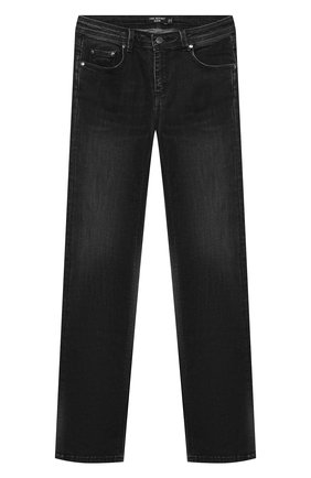 Детские джинсы NEIL BARRETT KIDS темно-серого цвета, арт. 026049 | Фото 1