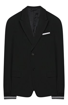 Детский пиджак NEIL BARRETT KIDS черного цвета, арт. 026046 | Фото 1