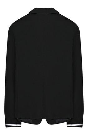 Детский пиджак NEIL BARRETT KIDS черного цвета, арт. 026046 | Фото 2