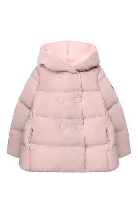 Детского пуховая куртка IL GUFO розового цвета, арт. A20GM305V0013/10A-12A | Фото 1