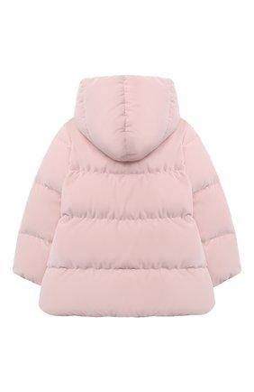 Детского пуховая куртка IL GUFO розового цвета, арт. A20GM305V0013/10A-12A | Фото 2