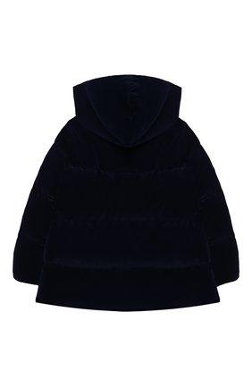 Детского пуховая куртка IL GUFO темно-синего цвета, арт. A20GM305V0013/10A-12A | Фото 2