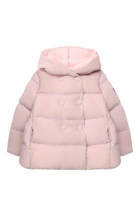 Детского пуховая куртка IL GUFO розового цвета, арт. A20GM305V0013/2A-4A | Фото 1