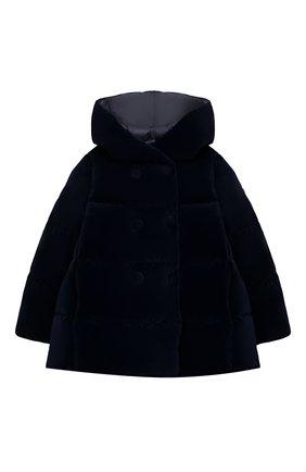 Детского пуховая куртка IL GUFO темно-синего цвета, арт. A20GM305V0013/2A-4A | Фото 1