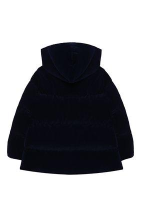 Детского пуховая куртка IL GUFO темно-синего цвета, арт. A20GM305V0013/2A-4A | Фото 2