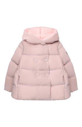 Детского пуховая куртка IL GUFO розового цвета, арт. A20GM305V0013/5A-8A | Фото 1