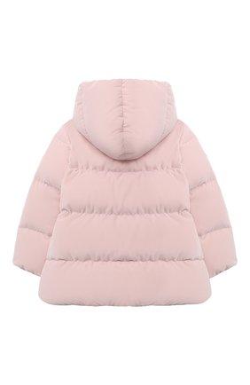 Детского пуховая куртка IL GUFO розового цвета, арт. A20GM305V0013/5A-8A | Фото 2