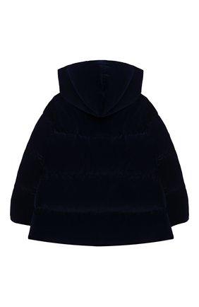 Детского пуховая куртка IL GUFO темно-синего цвета, арт. A20GM305V0013/5A-8A | Фото 2