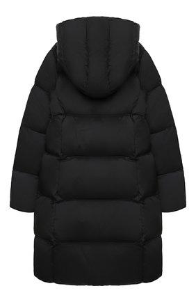 Детское пуховое пальто POLO RALPH LAUREN черного цвета, арт. 313795699 | Фото 2