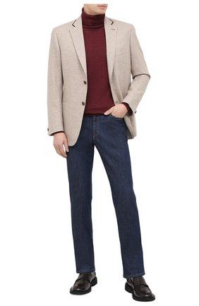 Мужской пиджак из шерсти и кашемира BRIONI бежевого цвета, арт. RGQ00L/09A8E/D0R0TE0 | Фото 2
