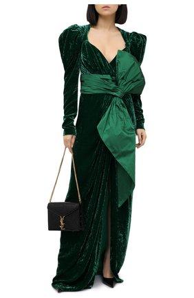 Женское платье ZUHAIR MURAD зеленого цвета, арт. DRP20342/VESB003 | Фото 2