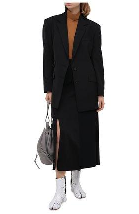 Женский жакет MAISON MARGIELA черного цвета, арт. S51BN0380/S52565 | Фото 2