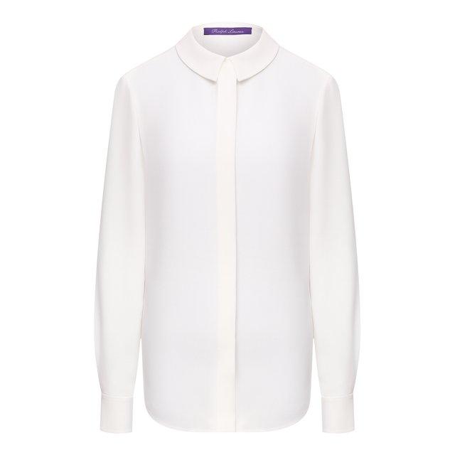 Шелковая рубашка Ralph Lauren