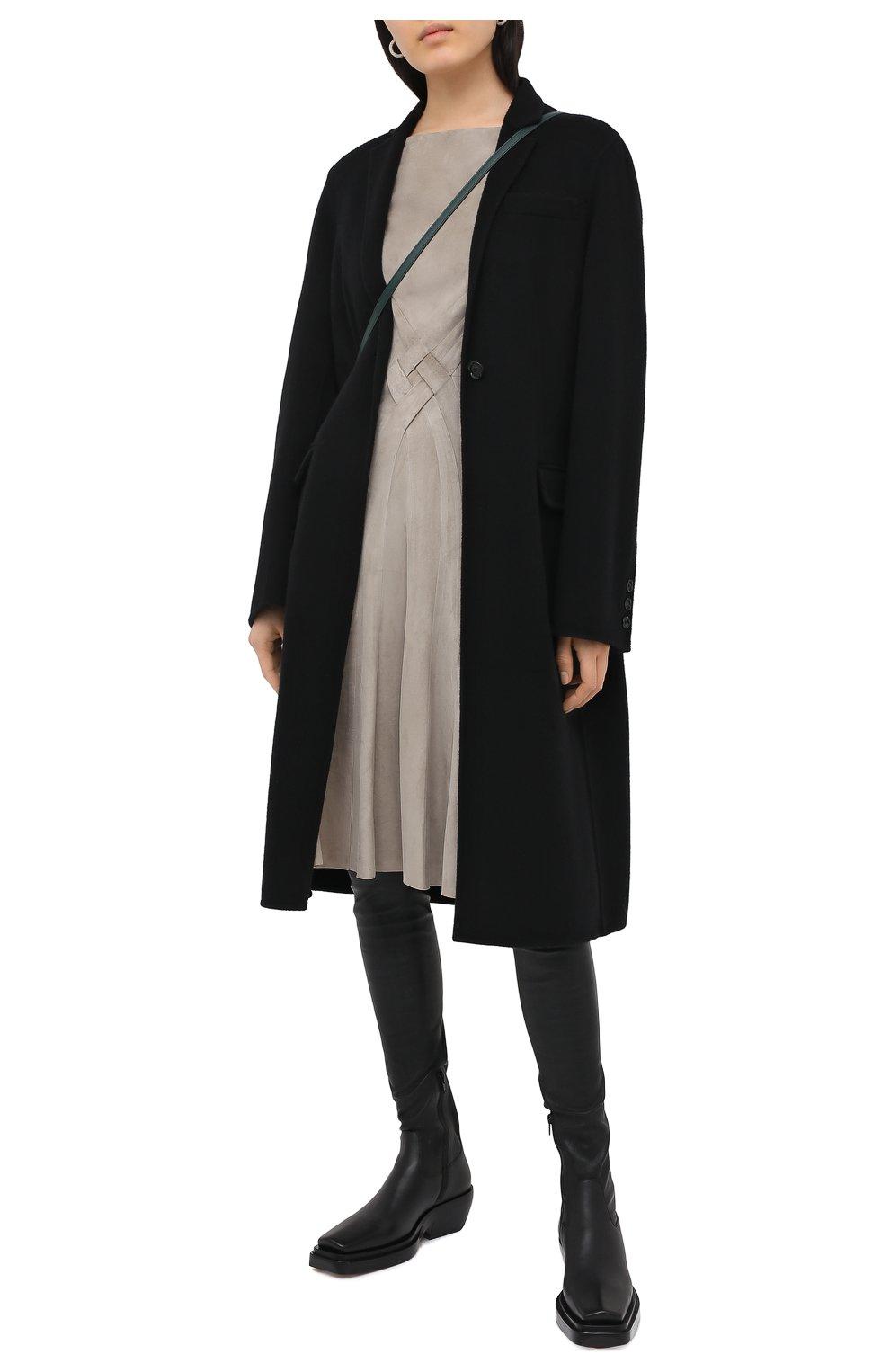 Женское замшевое платье RALPH LAUREN серого цвета, арт. 290818153 | Фото 2