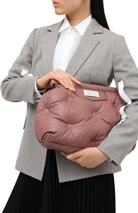 Женская сумка glam slam MAISON MARGIELA розового цвета, арт. S61WG0034/PR818 | Фото 2