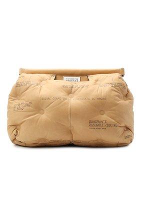 Женская сумка glam slam large MAISON MARGIELA коричневого цвета, арт. S61WG0030/PS123 | Фото 1