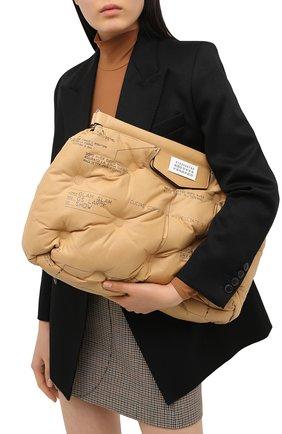 Женская сумка glam slam large MAISON MARGIELA коричневого цвета, арт. S61WG0030/PS123 | Фото 2