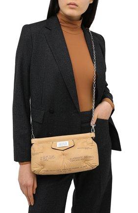 Женский сумка glam slam MAISON MARGIELA коричневого цвета, арт. S56WF0097/PS123 | Фото 2