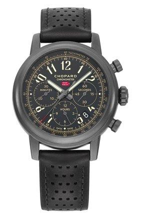 Мужские часы mille miglia chronograph CHOPARD черного цвета, арт. 168589-3028 | Фото 1