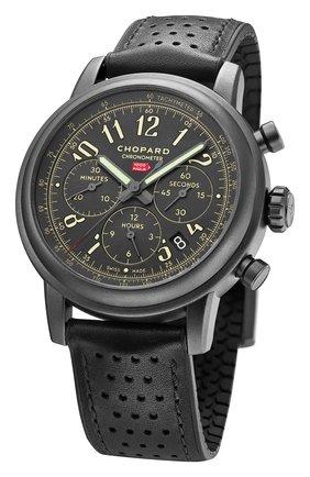 Мужские часы mille miglia chronograph CHOPARD черного цвета, арт. 168589-3028 | Фото 2