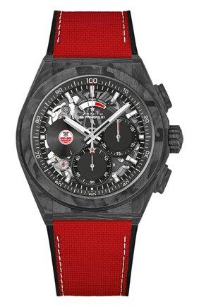 Мужские часы defy el primero 21 carl cox ZENITH бесцветного цвета, арт. 10.9001.9004/99.R941 | Фото 1 (Материал корпуса: Другое; Цвет циферблата: Другое; Механизм: Автомат)