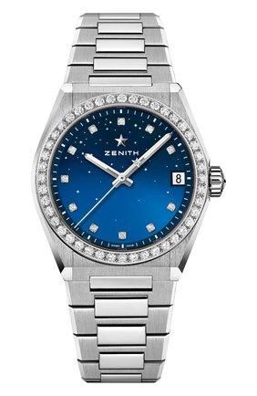 Женские часы midnight ZENITH бесцветного цвета, арт. 16.9200.670/01.MI001   Фото 1