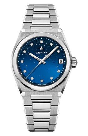 Женские часы midnight ZENITH бесцветного цвета, арт. 03.9200.670/01.MI001   Фото 1
