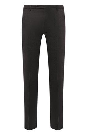 Мужские шерстяные брюки BERWICH темно-коричневого цвета, арт. SC/1 ALC/VB2108 | Фото 1