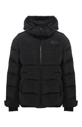 Мужская пуховая куртка DIESEL черного цвета, арт. A00555/0HAVA | Фото 1
