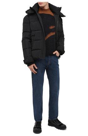 Мужская пуховая куртка DIESEL черного цвета, арт. A00555/0HAVA | Фото 2